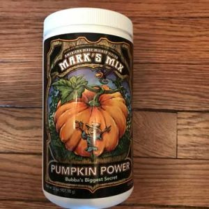 marks mix pumpkin power