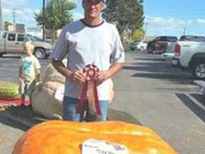 giant pumpkin by Dustin