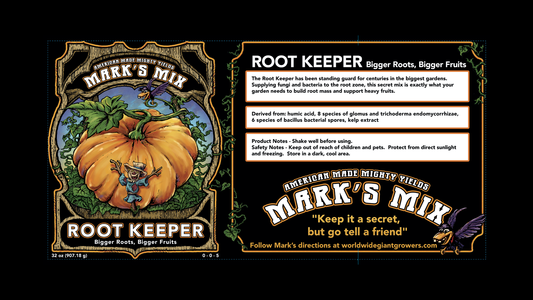 Marks Mix Root keeper label